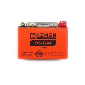 Аккумулятор 12 вольт 4Ач Hemen Energy с цифровым индикатором заряда DS-1204