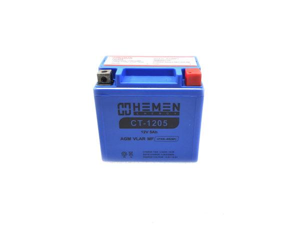 Аккумулятор 12 вольт 5Ач Hemen Energy CT-1205