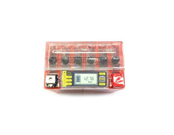 Аккумулятор скутер 12 вольт 5Ач Hemen Energy с цифровым индикатором заряда DS-1205