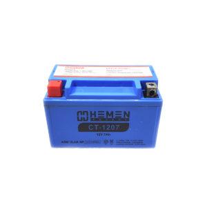Аккумулятор для скутера 12 вольт 7Ач Hemen Energy CT-1207
