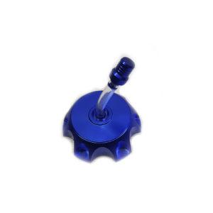 Крышка бака с клапаном питбайк Алюминиевая TTR BSE KAYO Синяя