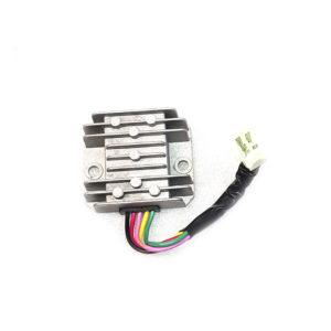 Реле регулятор скутер 5 проводов малая колодка штырь (папа) 50-125-150 кубов