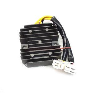 Реле регулятор скутер 6 проводов 3 фазы желтый черный красный и зеленый (мама)