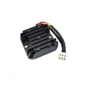 Реле регулятор скутер 5 проводов малая колодка (мама) гнездо 125-150 кубов