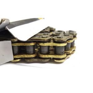 Приводная цепь SFR 428-132HO На мотоциклы, питбайки, мопеды.  Усиленная с сальниками.  Длина 132 звена.