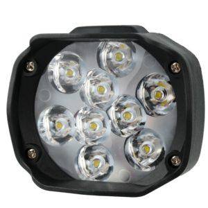 Фара светодиодная 9 диодов 18 ватт, напряжение от 9 до 85 вольт