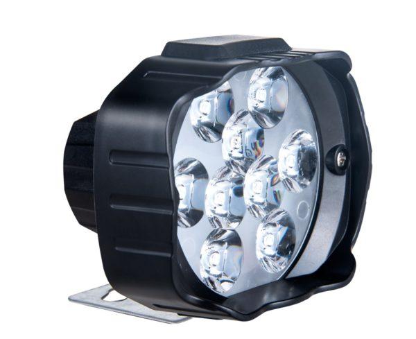 Фара мото светодиодная 9-85 вольт 18 Ватт