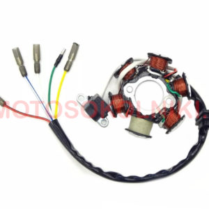 Статор генератора, 6 катушек 5 проводов на мопеды Альфа