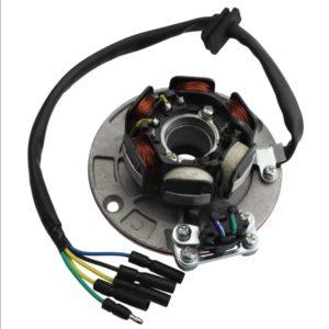 Статор генератора для питбайков YX 125-140-150-160сс 6 катушек (4+2)