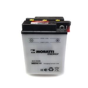 Аккумулятор 6 вольт 14Ач Moratti