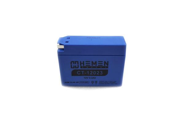 Аккумулятор Helmen energy для скутера Сузуки 12 вольт 2.3 Ач CT-12023