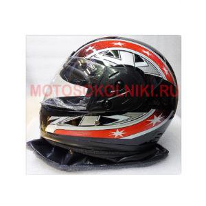 Шлем мото утепленный с визором Concord
