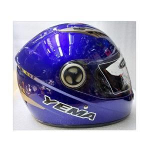 Шлем мото с визором YEMA