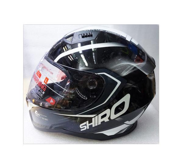 Мотошлем с визором Shiro