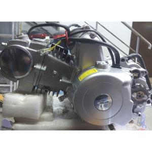 Двигатель 125 кубов мопед Альфа Дельта Питбайк Эл.стартер
